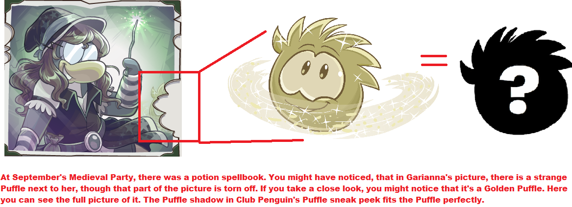 Assurance of Golden puffle