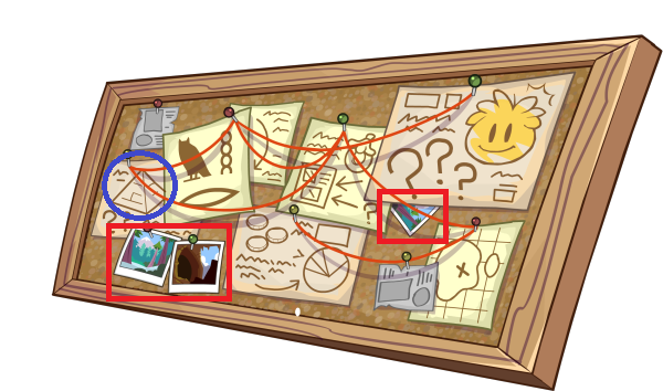 Clues for golden puffle