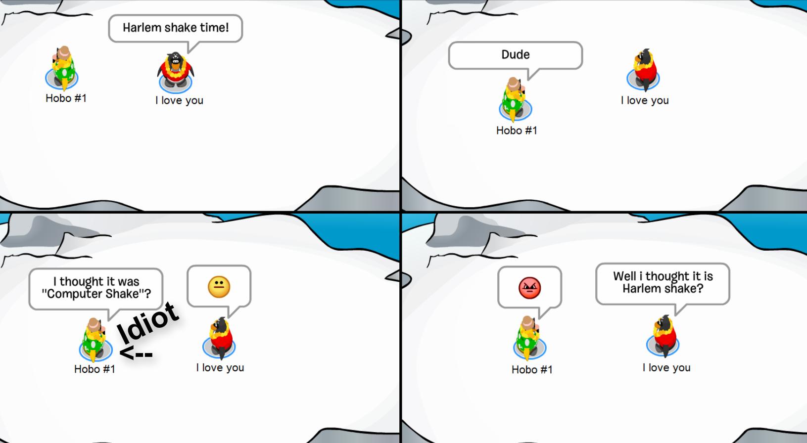 Club Penguin Memes: Computer Shake! - Episode 5