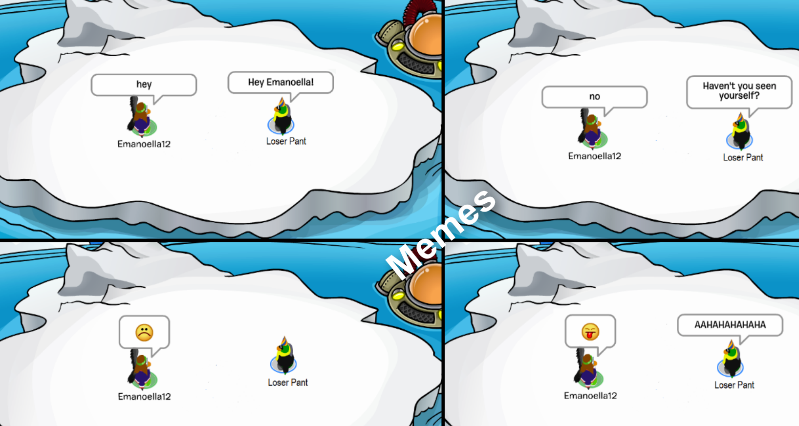 Club Penguin Memes: Never See Yourself - Episode 6