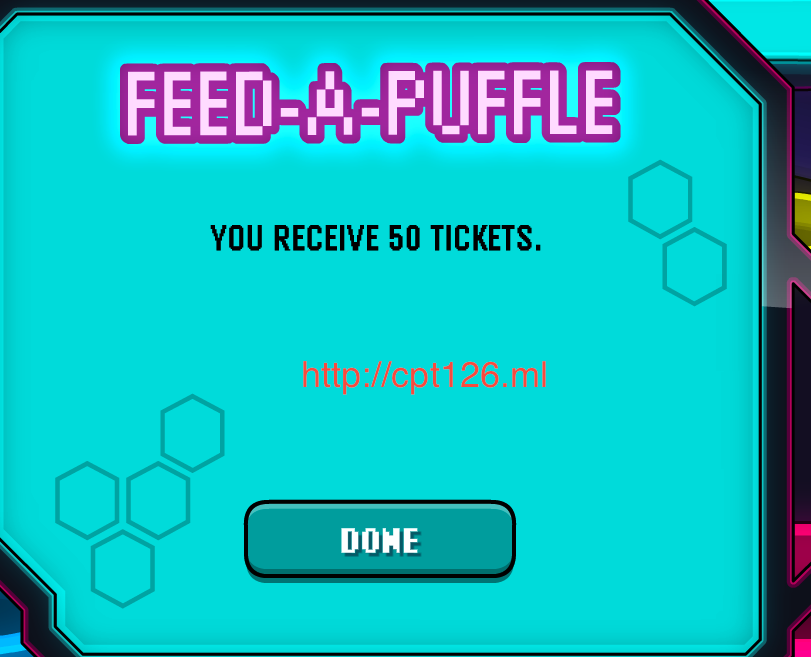 50 tickets feed a puffle
