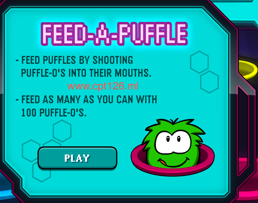 Instructions - Feed a puffle