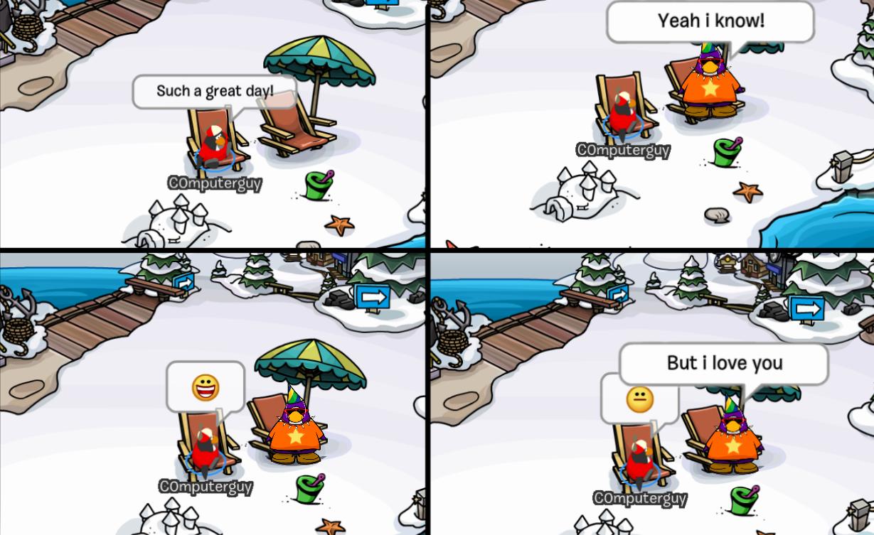 Club Penguin Memes: Beach – Episode 16