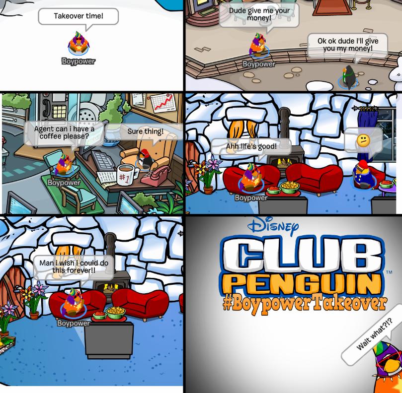 Club Penguin Memes: #BoypowerTakeover – Episode 17
