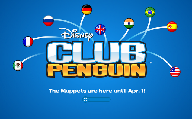 Club Penguin Log On Loading Screen Updated
