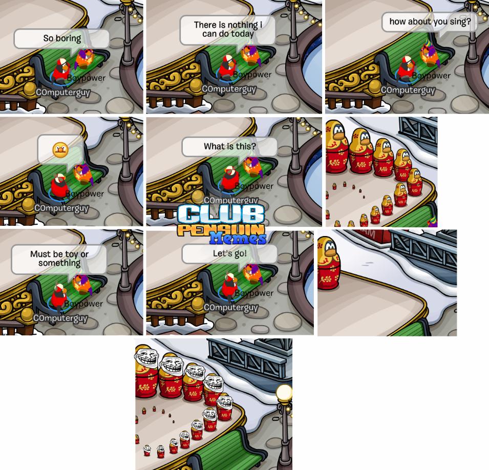 Club Penguin Memes: Troll Toy Penguin - Episode 28