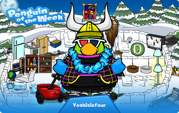Penguin of the Week: Yoshisixfour