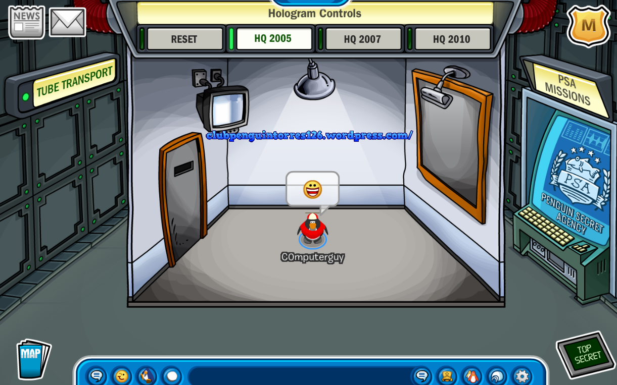 Club Penguin: How To Still Access The Old EPF Command Room