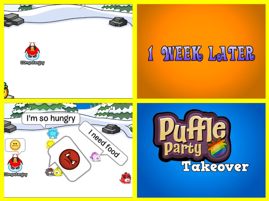 Club Penguin Memes: Puffle Party 2014 - Episode 30