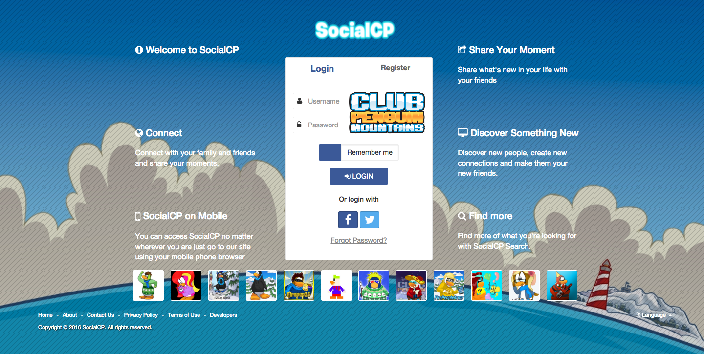 socialcp login