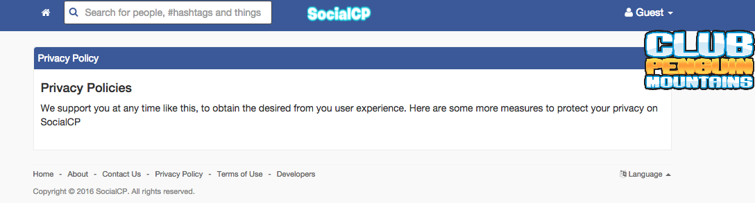 socialcp privacy policy