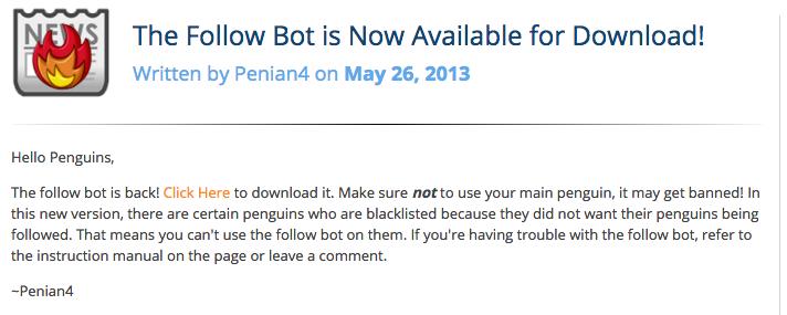 follow bot 2013