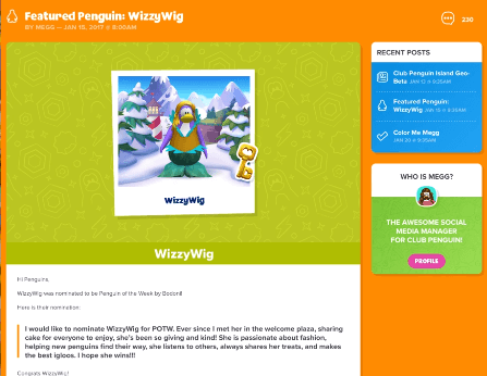 """""""Makes the best igloos""""?! Another piece of evidence to prove igloos are coming soon!"""