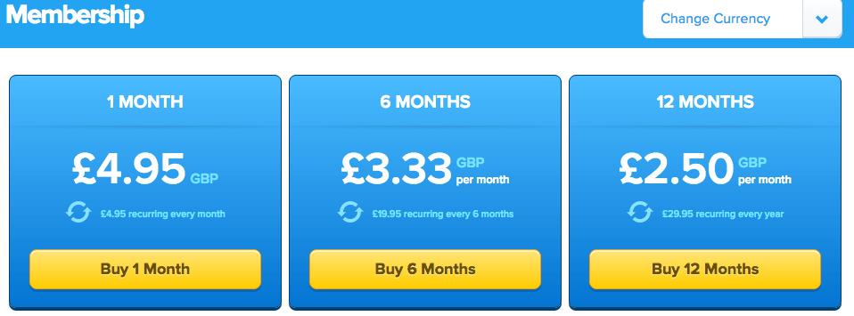 membershop-prices