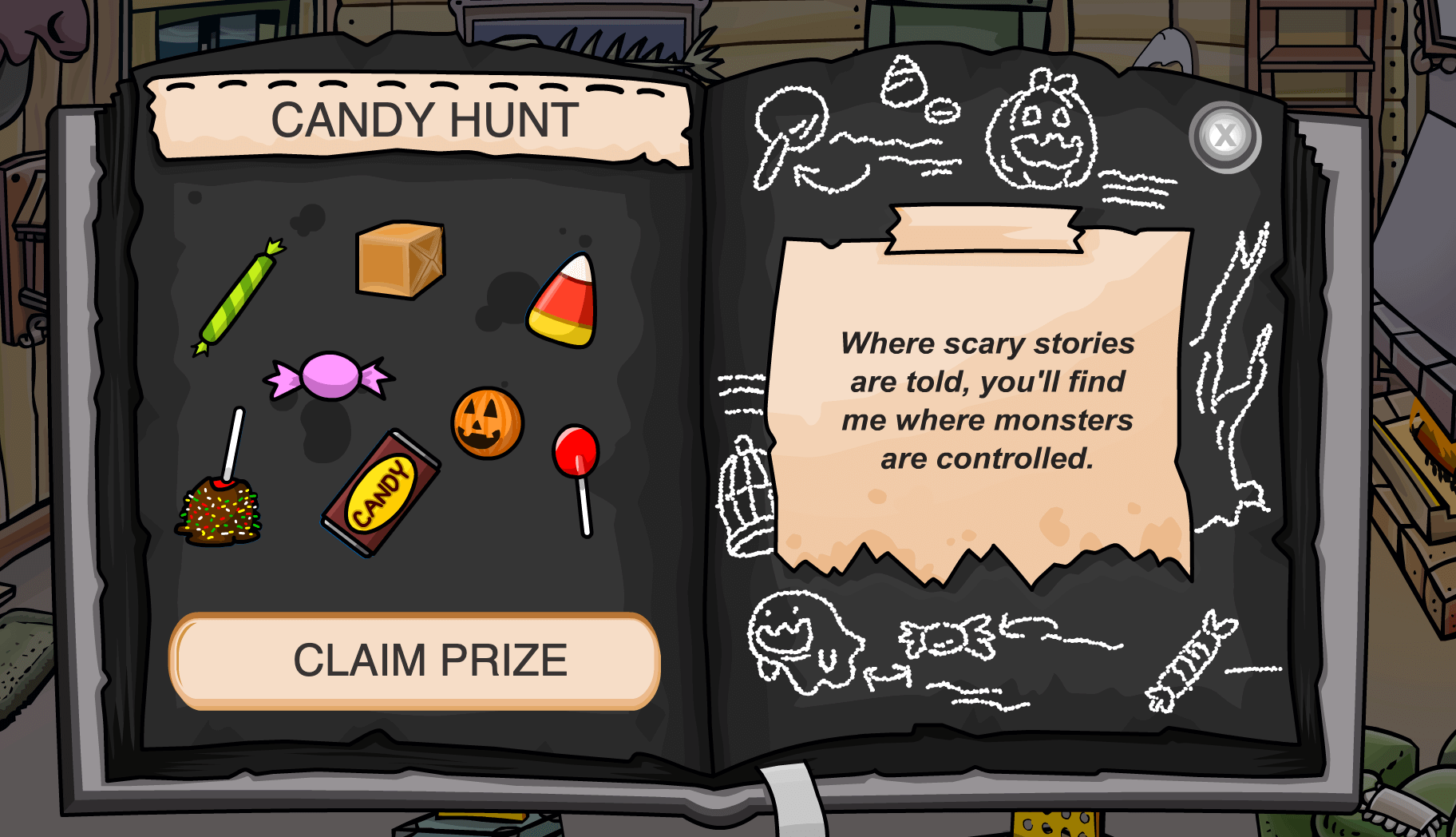 Cp Halloween 2020 Candy Hunt CP Rewritten: Halloween Party Candy Hunt – Club Penguin Mountains
