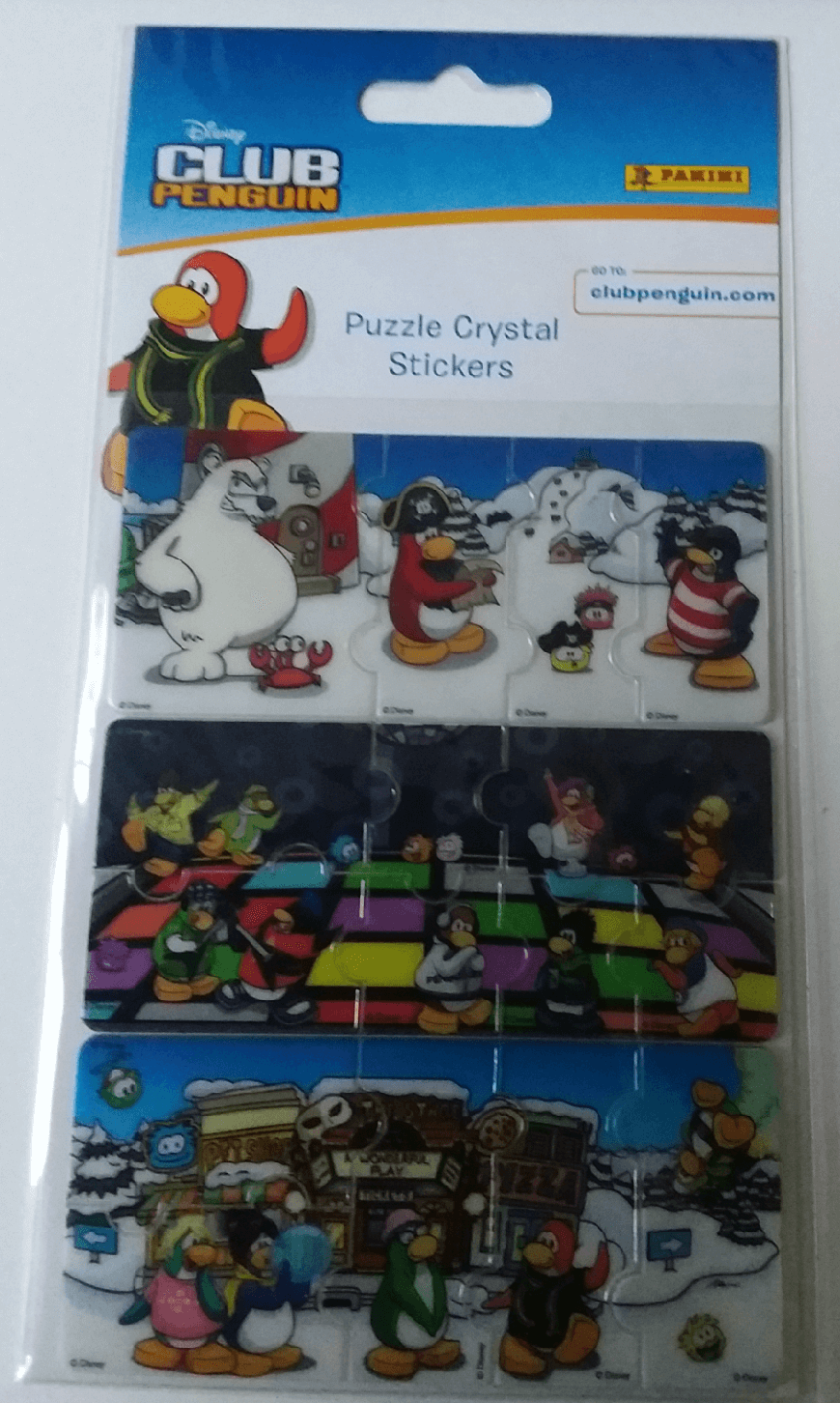 Puzzle Crystal Stickers