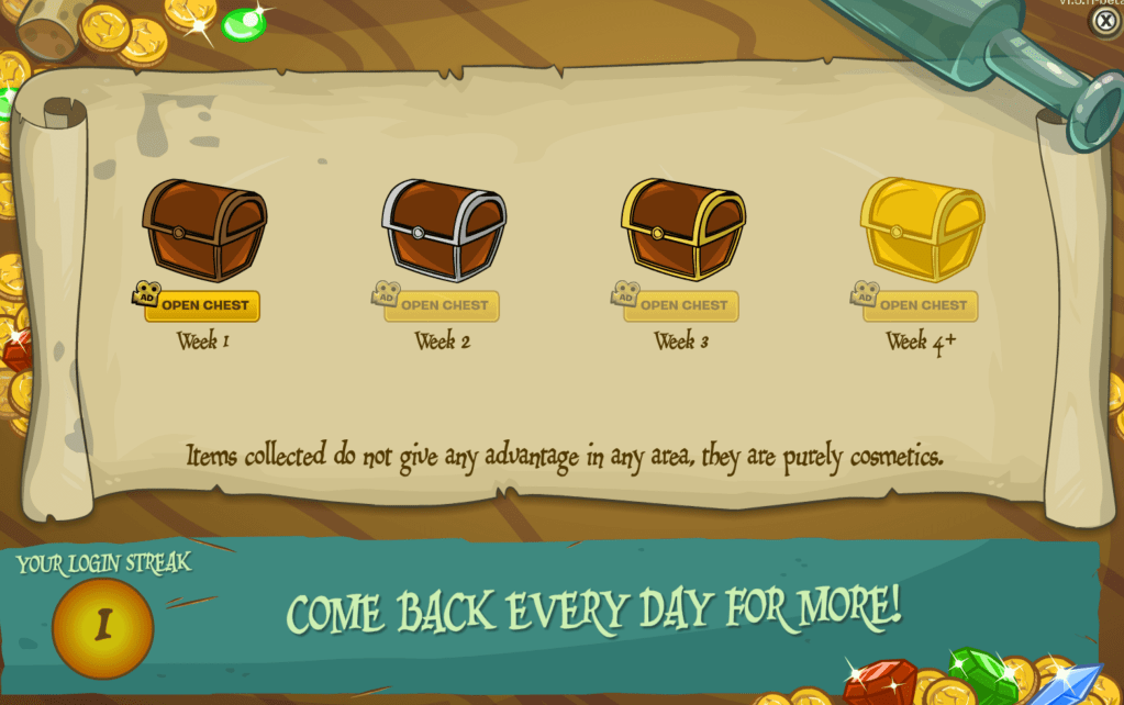 CP Rewritten: Rockhopper's Daily Treasure System Unveiled – Club Penguin Mountains